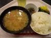 トン汁・納豆