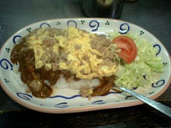 ひき肉と卵カレー