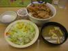 豚めし野菜セット・納豆
