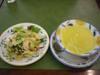 コーンポタージュスープ+セットサイドサラダ