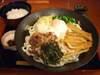 肉ぶっかけトリプルご飯