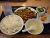 鶏肉甘辛炒め定食