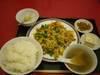 焼豚と玉子炒め定食