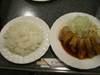 ばら味噌カツ(バラ)定食