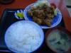 鶏唐揚定食