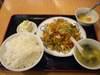 豚肉野菜炒めランチご飯大盛