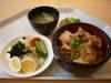 肉豆腐丼サラダ