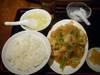 いか野菜炒ランチ