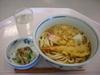 天ぷらうどん・納豆