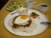 豚挽き肉のタイ風辛味ご飯大盛
