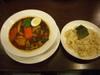 14種類の野菜のスープカレー玄米ご飯