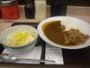 牛・カレーサラダセット