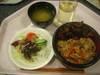生姜焼丼・サラダ