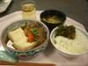 肉豆腐ランチ