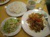 豚肉の生姜焼きランチ
