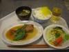 赤魚の煮付け・サラダ