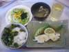 タラのバター醤油焼・サラダ
