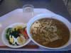 サラダ・ひき肉ともやしの味噌ラーメン