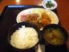 牡蠣フライ鶏唐揚ランチ