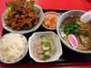 生姜焼ラーメンセット