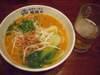 坦々麺+麦酒
