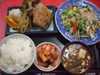 鯖唐揚・野菜炒め