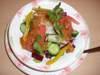 8種類の新鮮サラダ