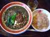黒胡麻坦々麺セット