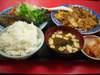 麻婆豆腐焼魚定食