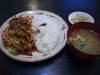 イカと野菜炒め