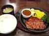 リブロースステーキご飯味噌汁セット