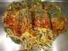 広島お好み焼き麺3玉うどん1玉