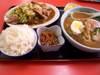 野菜炒め・ラーメン